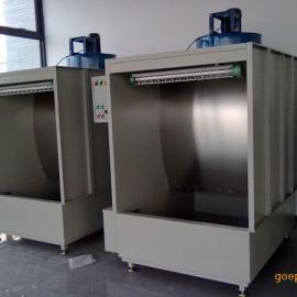 定制环保水帘柜喷漆台|不锈钢无泵水帘柜厂家