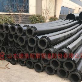 电厂灰渣输送管道 超高分子不结垢耐磨管道