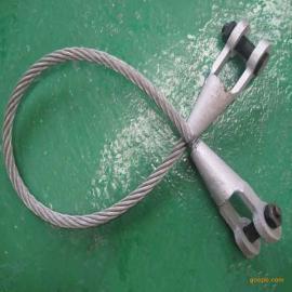 叉耳式调节浇铸索具 调节式浇铸钢丝绳索具
