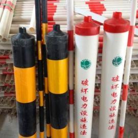 新品定做电杆拉线反光警示管 红白反光警示管 质优价廉