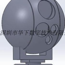 雷达he视频guang电genzong无人机 目标自动genzong云台监控摄像机
