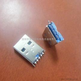 (3.0 USB A公+TF卡座)�炔蹇ú�USB公�^一�w式