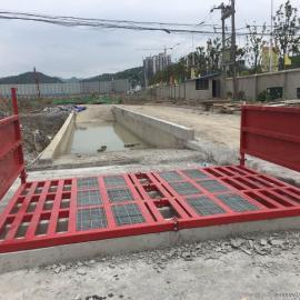 江西省建筑工地自动冲洗平台车辆洗轮机价格