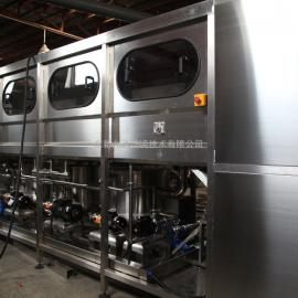 全自动桶装水生产灌装流水线