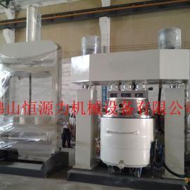 双组fenzhong空bo璃mifeng胶sheng产设备 qiang力jiao拌分散ji