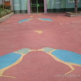彩色透水路面 透水混凝土添加剂 透水混凝土