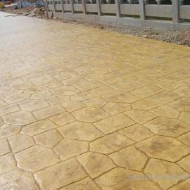 水泥压膜地坪 压膜地面 压膜路面
