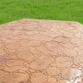 压花混凝土 压膜地坪 压模混凝土