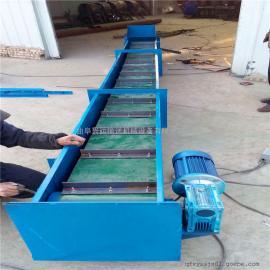六九重工加厚不锈钢粉料用刮板输送机定制Lj8MZ