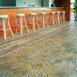 压膜地坪 彩色压膜地面 压印混凝土