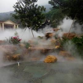 山石景观喷雾