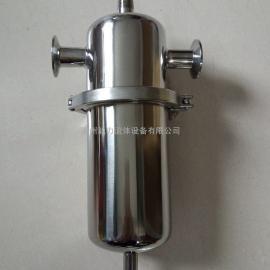 304不锈钢快装空气过滤器 卫生级精密过滤器 厂家直销