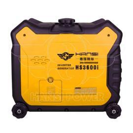 野外出行必备3KW数码汽油发电机
