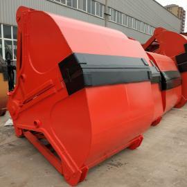 U123zhua斗钢厂用四绳zhua斗配19.5钢丝绳500铸钢滑轮