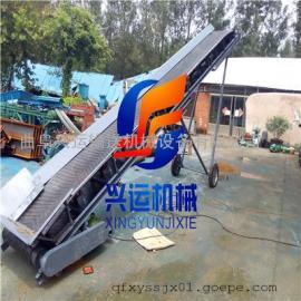 环保耐用型皮带输送机价格 800带圆管V型托辊散料装车皮带机