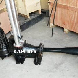0.75KW自耦式射流曝气机 潜水曝气机耦合式安装