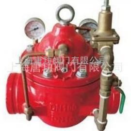 唐功G200X沟槽减压阀 卡箍式减压阀 沟槽水力控制阀