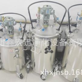 TONSON通又顺40升SUS不锈钢气动搅拌压力桶