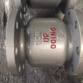 H42H-40C li式铸gang止回阀