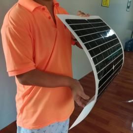 18v柔性太阳能板,屋顶发电系统厂家中德太阳能