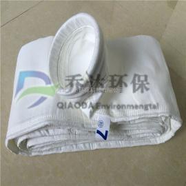 长期销售拒水防油玻璃纤维除尘布袋 耐高温针刺毡除尘布袋