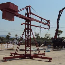 生产直销 12米手动布料机 建筑工地专用混凝土布料