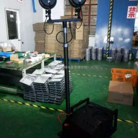 BT6000K便携式应急升降工作灯,2个35W氙气摇控照明灯,高亮照明灯