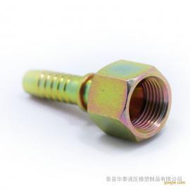高压胶管接头@公制螺纹高压胶管接头标准@华泰供应胶管接头