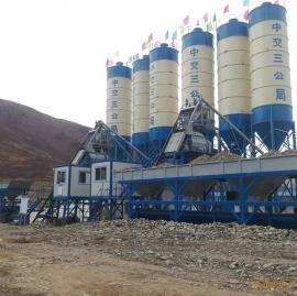 环保型搅拌站设备混凝土搅拌站hzs50