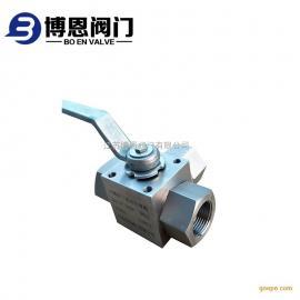 不锈钢内螺纹高压三通阀 高压换向球阀厂家批发