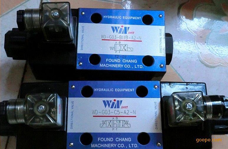 台湾峰昌电磁阀WD-G02-B2-A2-N