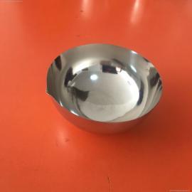 铂金蒸发皿表面光洁平整厚薄分布均匀100ml重量60g