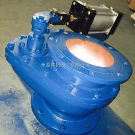 BZ643TC 气动摆动式陶瓷旋转阀