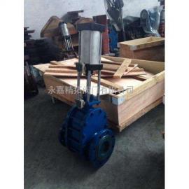 Z644TC-10C 气动陶瓷耐磨双闸板阀