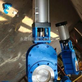 Z644TC-10C 气动碳化钨耐磨出料阀