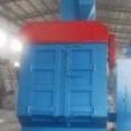 履带式清理机厂家直供 Q3210履带通过式抛丸清理机
