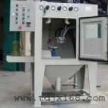 小型五jin 喷砂机 自动转盘喷砂机