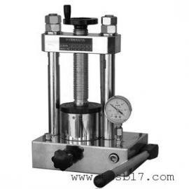 DY-40型手动台式压片机使用简单方便