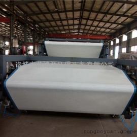 双网带式污泥压滤机安装 RBK 印染污泥处理设备 荣博源
