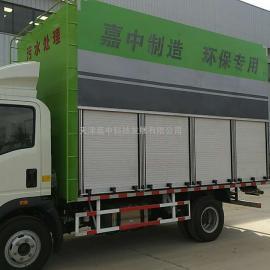 嘉中科技推出移动式生活污水处理车,安全环保