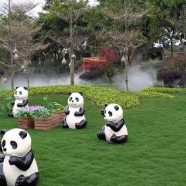 乐园创意景观喷雾