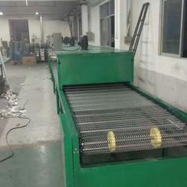 塑料丝印烘干线 高温烤漆流水线 网带烘干喷油线