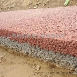 透水地坪 彩色道路 透水砼 增强剂 *厂商 品质有保证