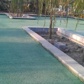 公交�?看Φ牟噬�透水地坪|耐磨防滑不褪色可以渗水的路面