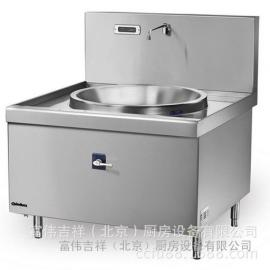 Chinducs单tou大锅电磁灶MGD15 华磁商用电磁炉