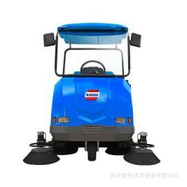小区道路清扫车 西安扫地机陕西扫地车道路保洁地面清洁设备