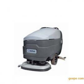 力奇先进BR755/BR755C/BR855大型手推式洗地机 全自动自走式洗地