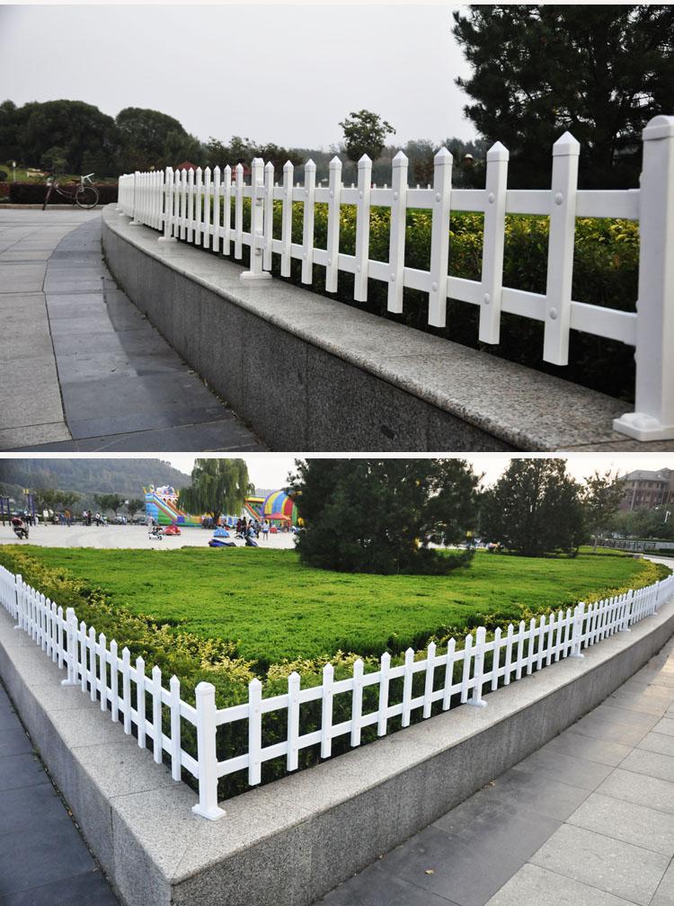 池州草坪护栏池州pvc护栏厂池州塑钢护栏厂家大批大发