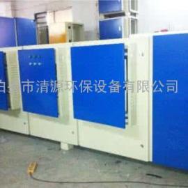 喷漆房废气处理设备UV光解yanghua装zhi