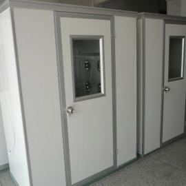 大峰净化fls-1c彩钢板单人双侧洁净风淋室